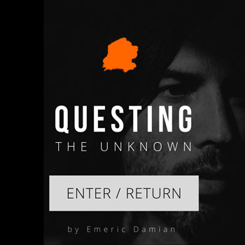 Emeric Damian of Questing The Unknown.
